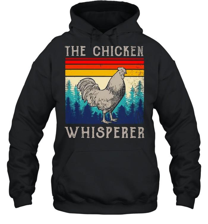 The Chicken Whisperer Vintage shirt Unisex Hoodie