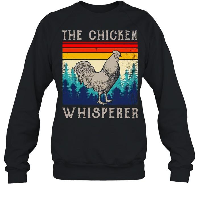 The Chicken Whisperer Vintage shirt Unisex Sweatshirt
