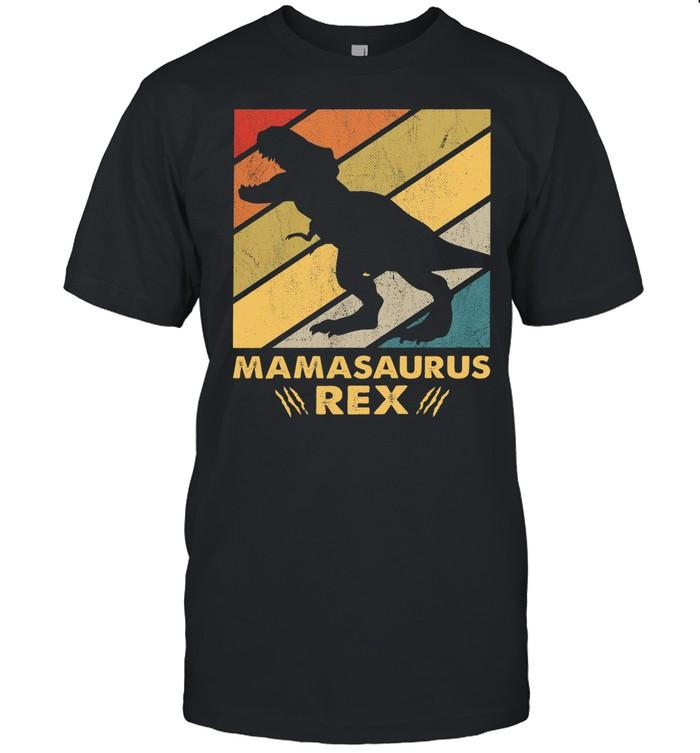 Mamasaurus rex vintage shirt Classic Men's T-shirt