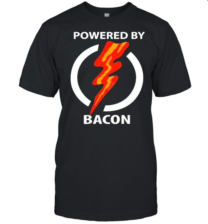 Powered By Bacon shirt Classic Men's T-shirt