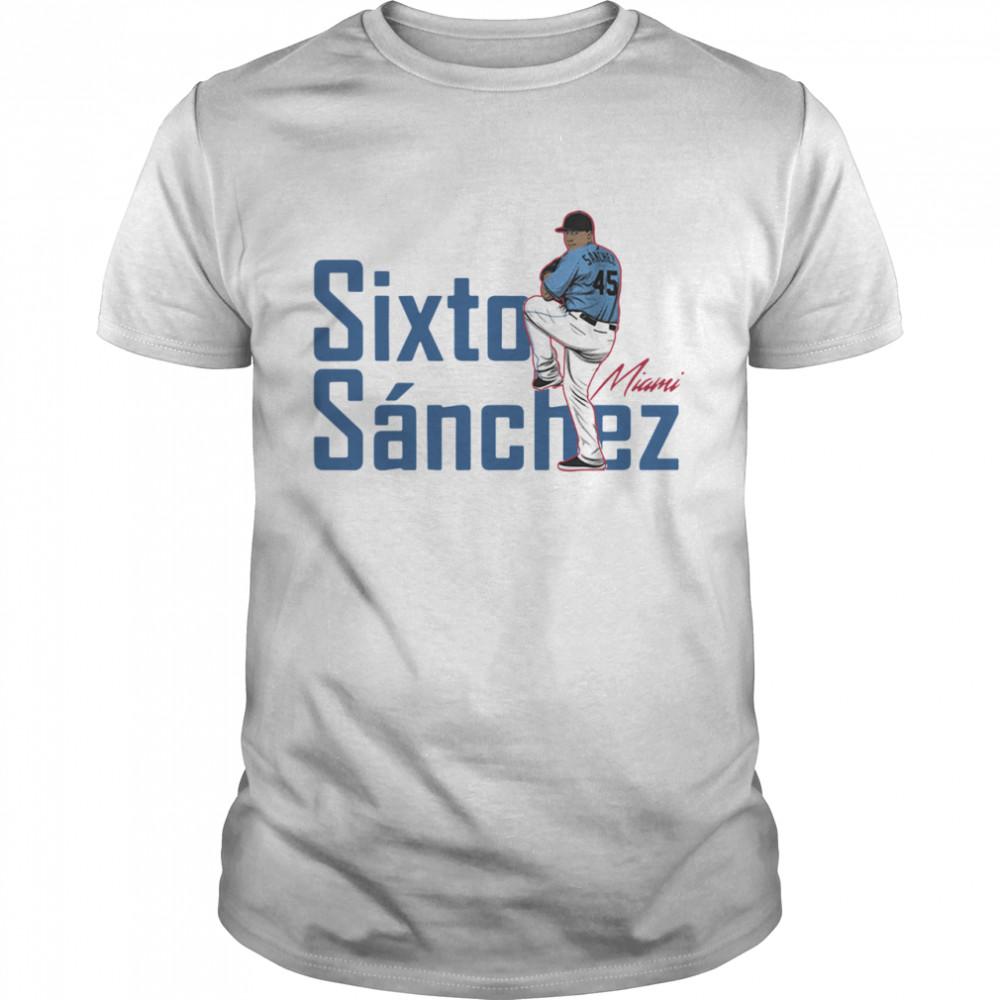 Sixto Sanchez Miami Marlins 2021 shirt Classic Men's T-shirt
