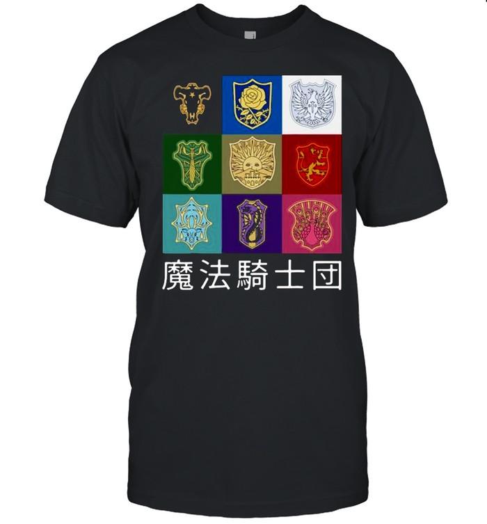 Classic Japanese Fantasy Manga Anime Clover Art  Classic Men's T-shirt