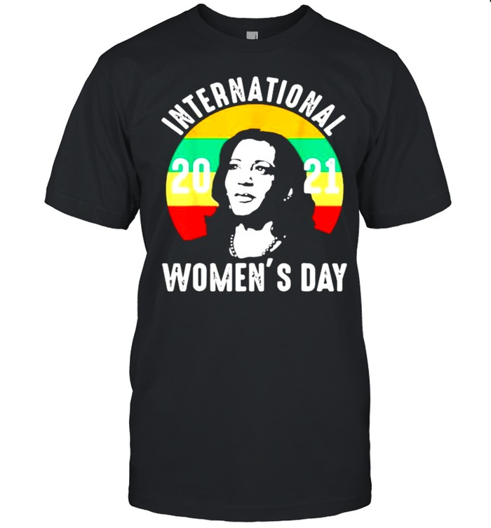 International Women's Day 2021 Kamala Harris shirt Classic Men's T-shirt