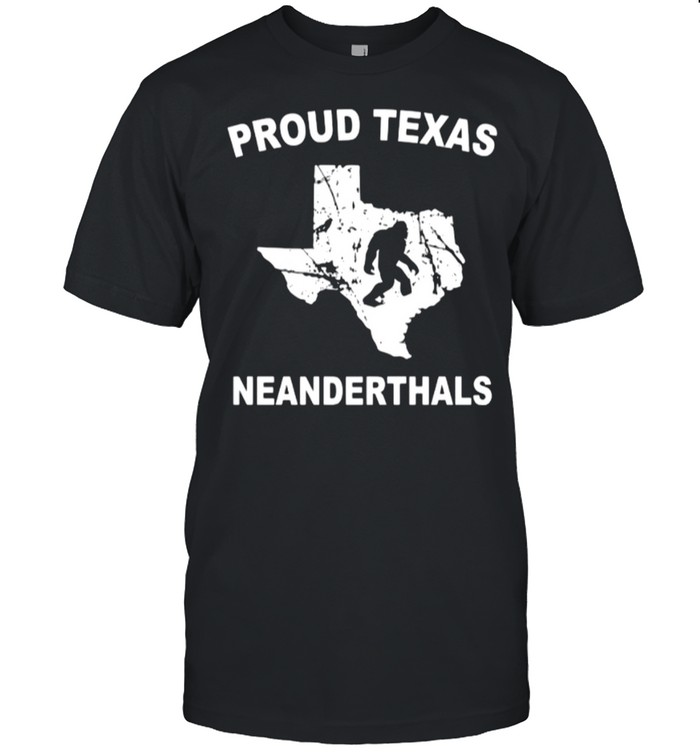 Proud Texas Neanderthal shirt Classic Men's T-shirt