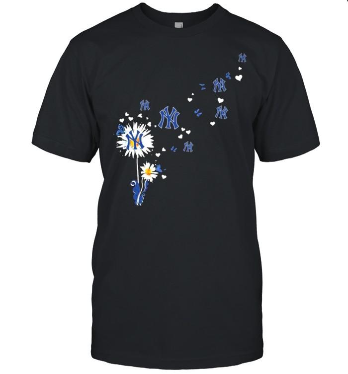 Dandelion New York Yankees Football  Classic Men's T-shirt