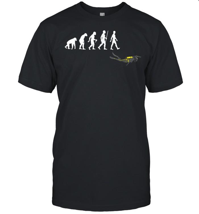 Scuba Diving Scuba Diver Humor shirt Classic Men's T-shirt
