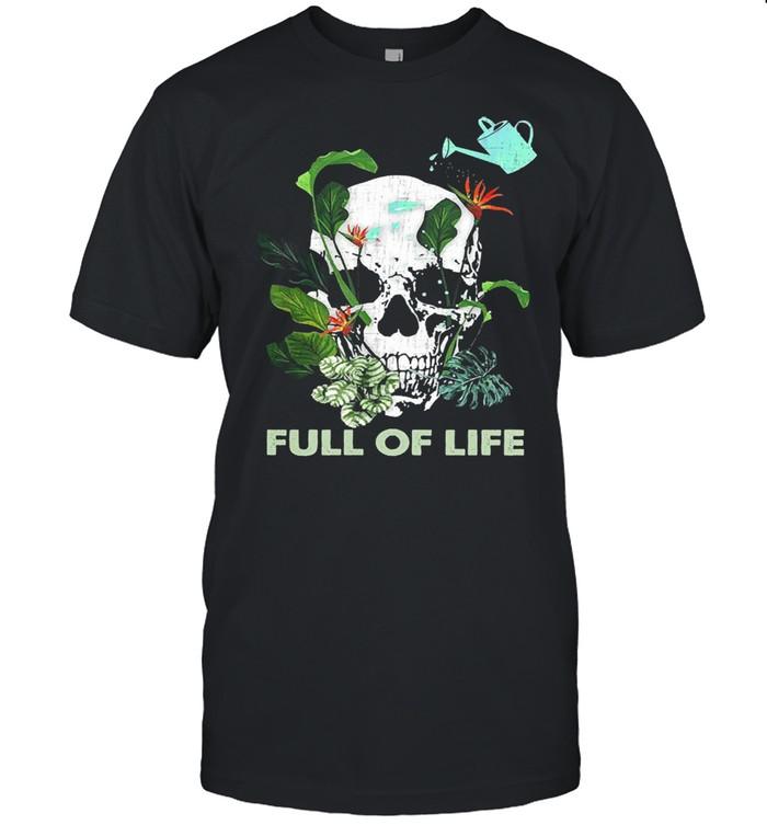 Skull full of life shirt Classic Men's T-shirt