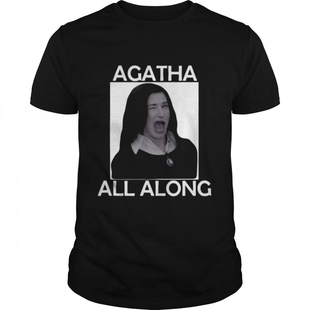 Agatha All Along Marvel Wandavision Mini Series  Classic Men's T-shirt