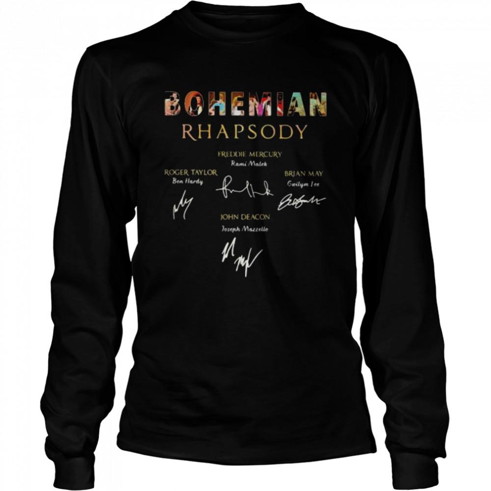 Bohemian Rhapsody Signature  Long Sleeved T-shirt