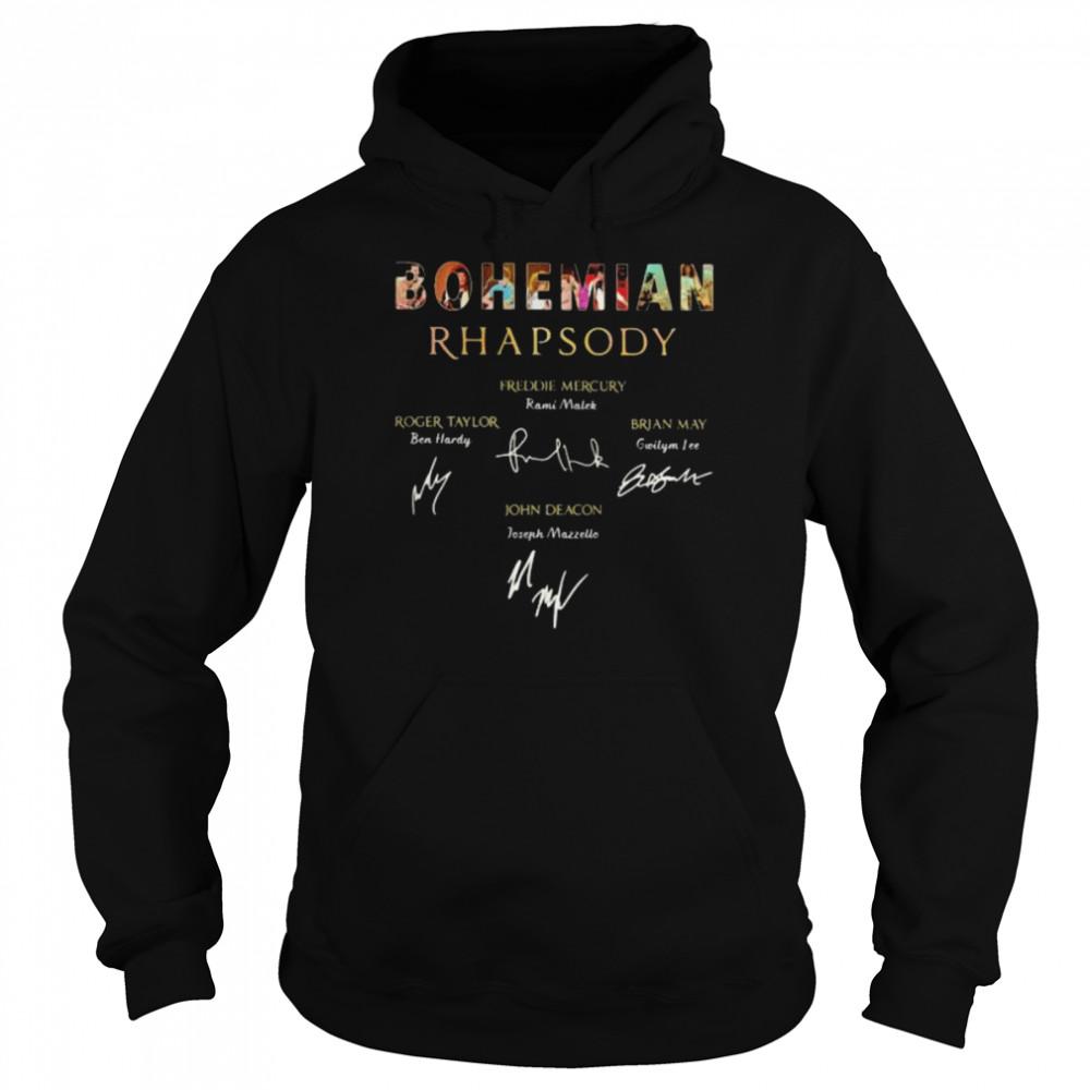 Bohemian Rhapsody Signature  Unisex Hoodie