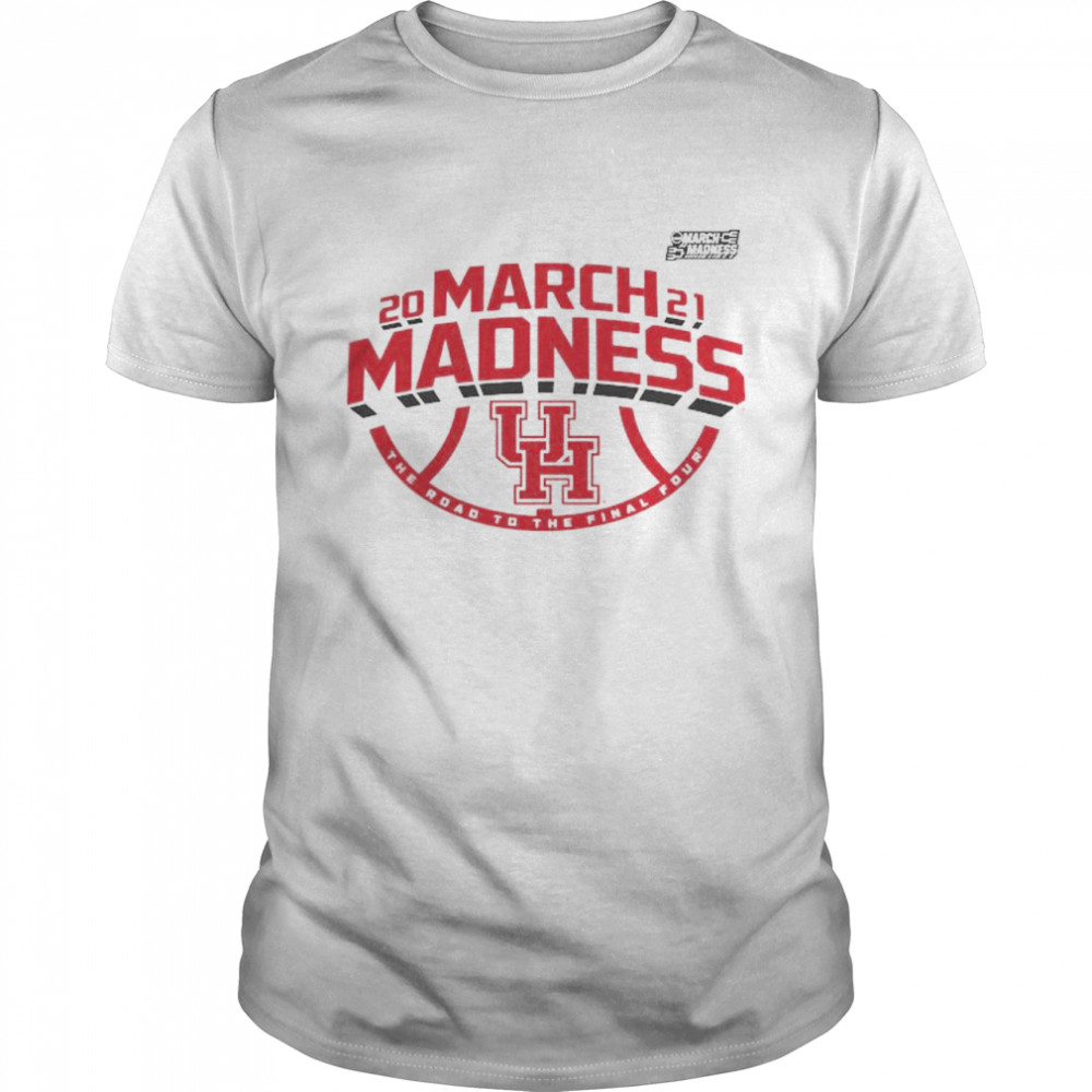 Houston Cougars 2021 NCAA Men's Basketball March Madness The road to the final four shirt Classic Men's T-shirt