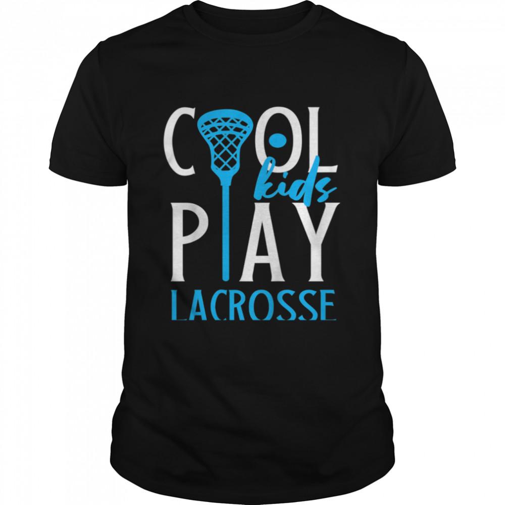Kids Play Lacrosse shirt Classic Men's T-shirt