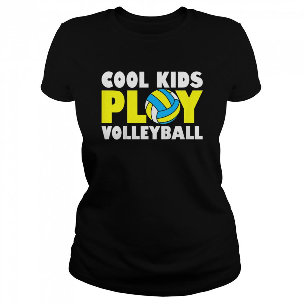 Kids Play Volleyball shirt Classic Women's T-shirt