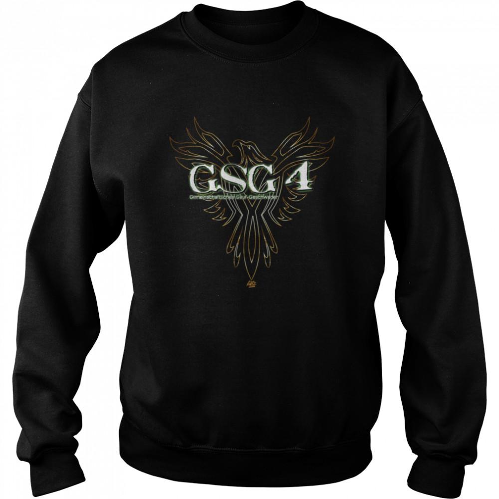 GSG 4 Himmelfahrt Vatertag Männertag Funshirt shirt Unisex Sweatshirt