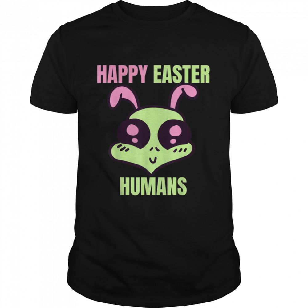 Happy Easter Human Alien shirt Classic Men's T-shirt