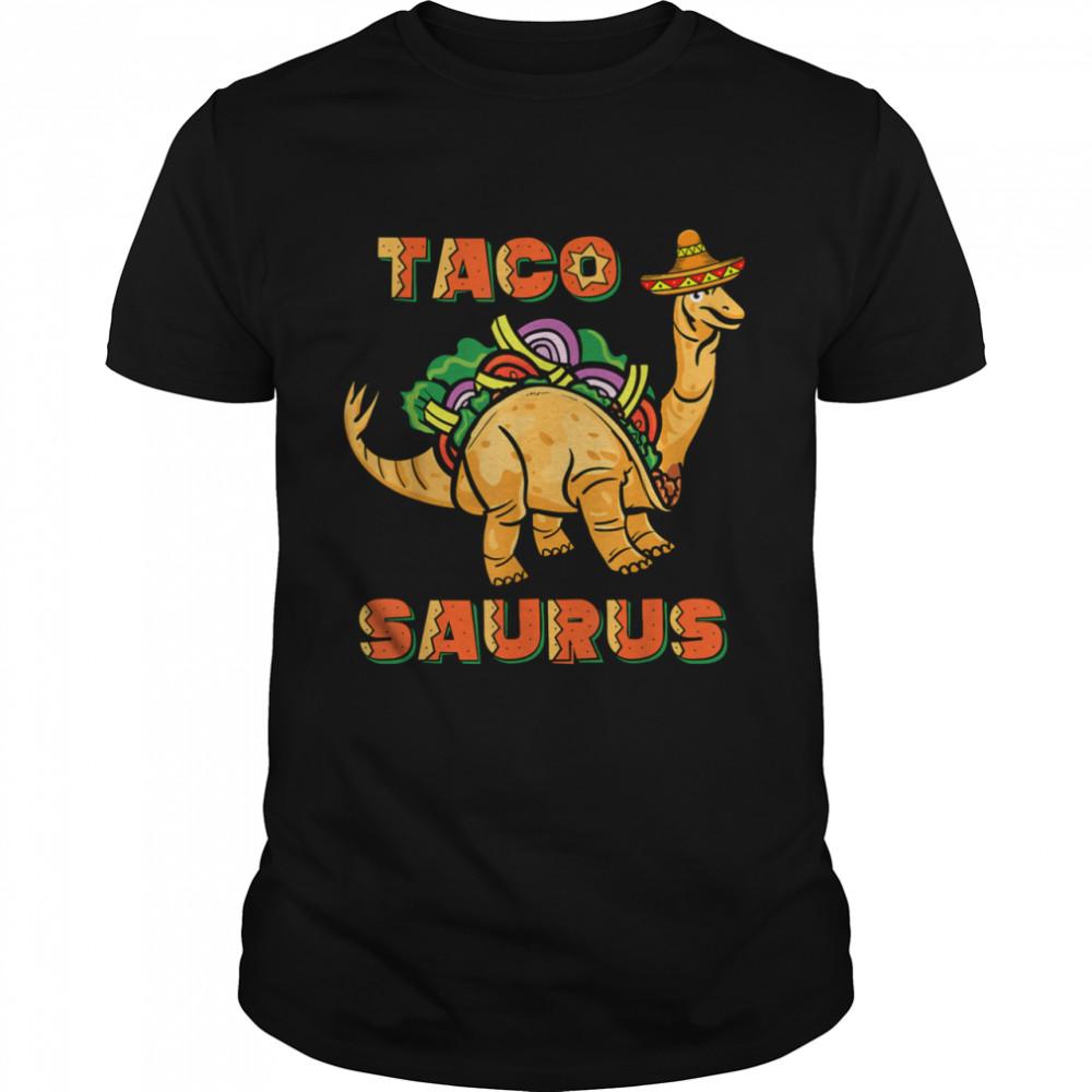 Tacosaurus Taco Cinco de Mayo Dinosaurus shirt Classic Men's T-shirt