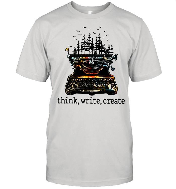 Think Write Create  Classic Men's T-shirt