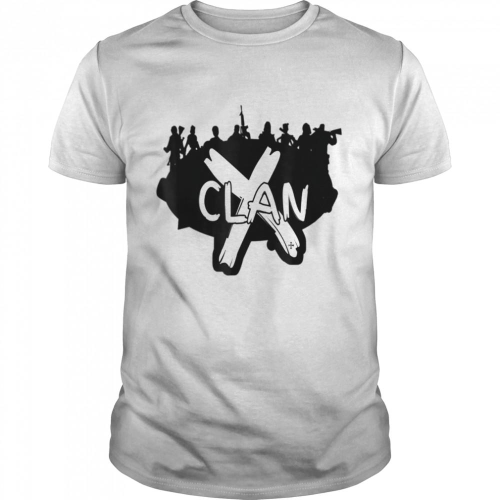 X Clan shirt Classic Men's T-shirt