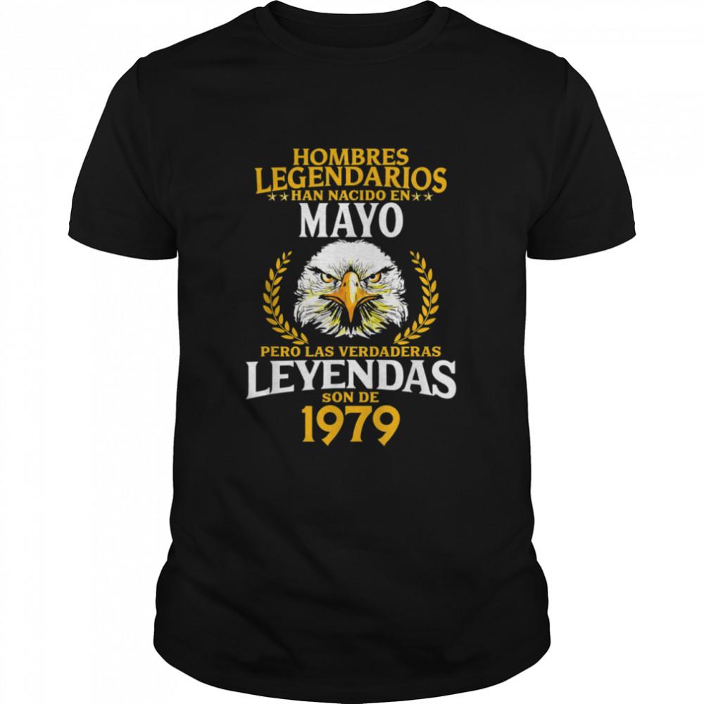 42 Años Hombres Legendarios Nacidos en Mayo de 42 shirt Classic Men's T-shirt