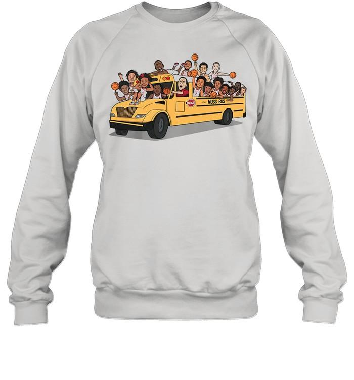 Arkansas Razorbacks Basketball Muss Bus shirt Unisex Sweatshirt