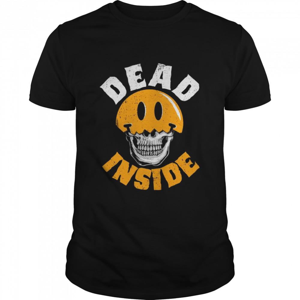 Skull Dead Inside shirt Classic Men's T-shirt