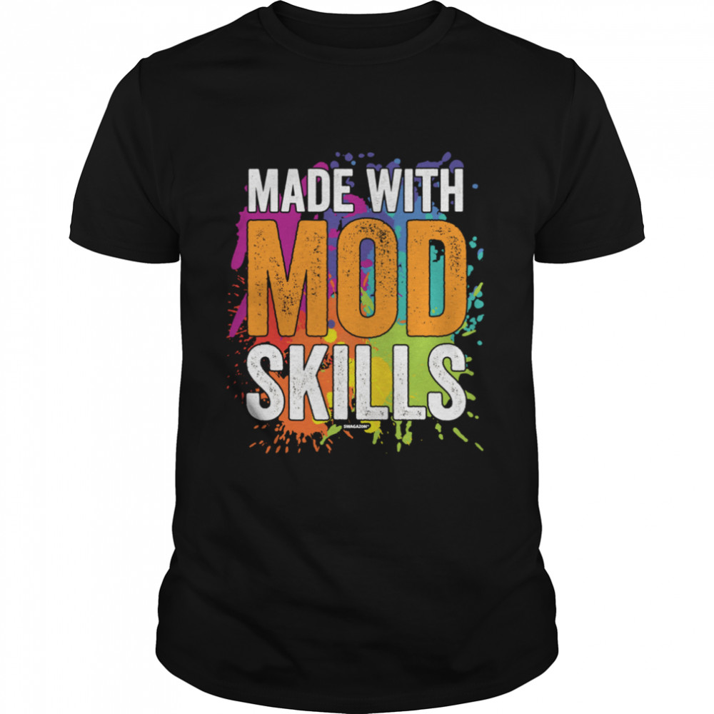 Swagazon Associate Coworker Made With MOD Skills  Classic Men's T-shirt