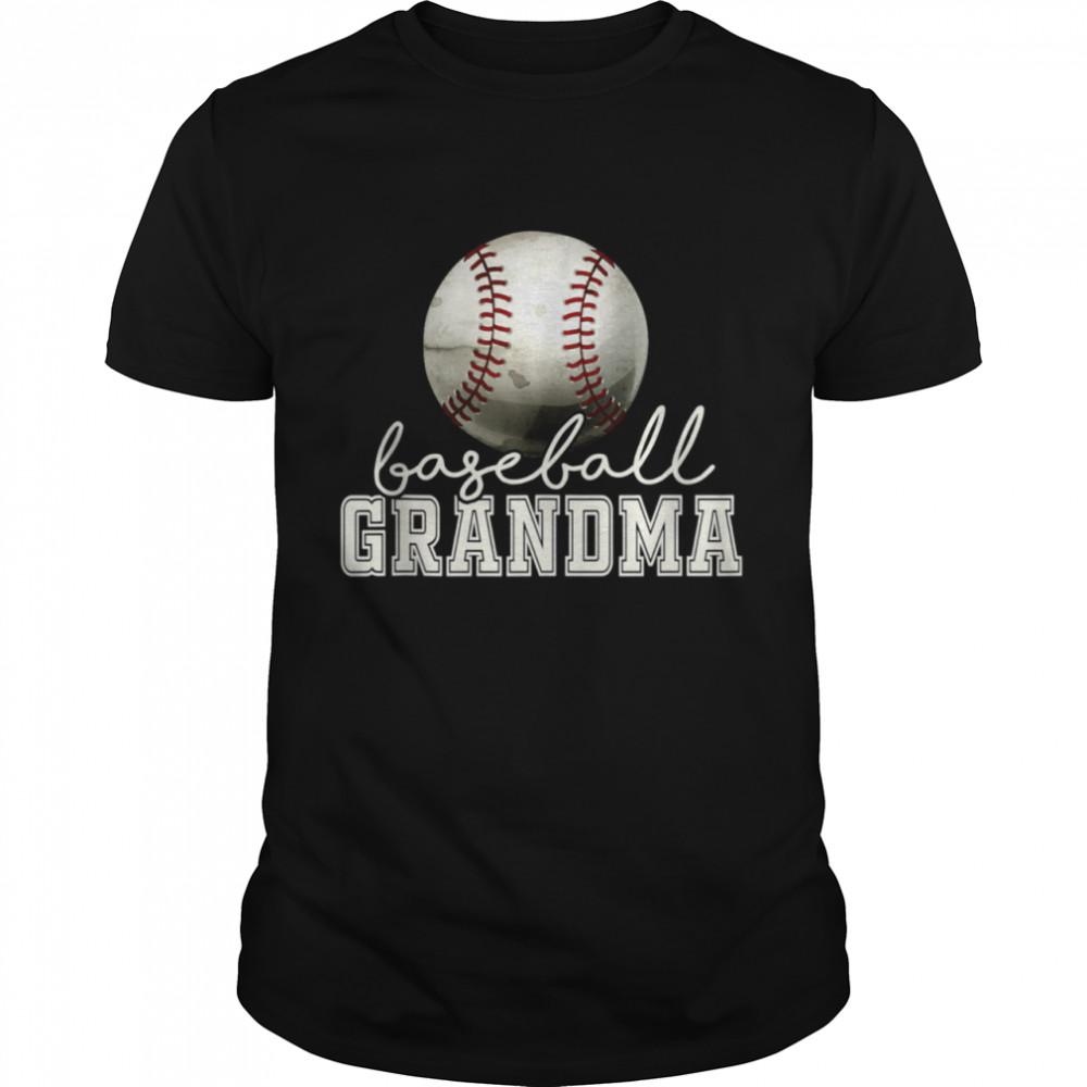 Vintage Baseball Grandma  Classic Men's T-shirt