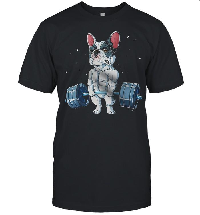 French Bulldog Weightlifting 2021 shirt Classic Men's T-shirt
