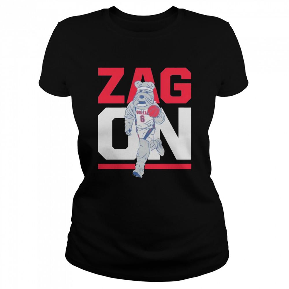 Gonzaga Bulldogs zag on shirt Classic Women's T-shirt