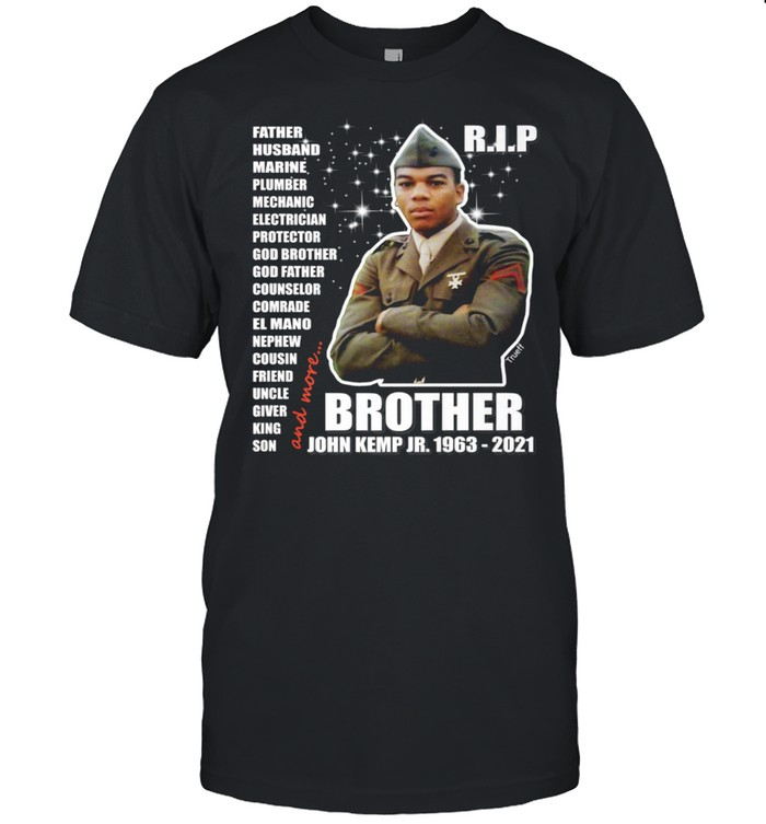 John Kemp Junior Brother Front & Back  Classic Men's T-shirt