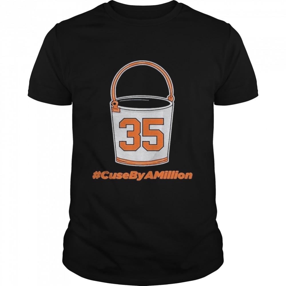 35 Bucket #CuseByAMillion shirt Classic Men's T-shirt