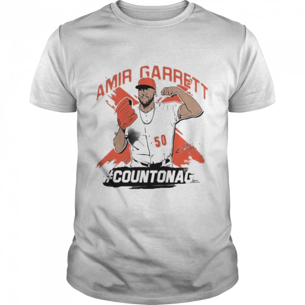 Amir Garrett countonag shirt Classic Men's T-shirt