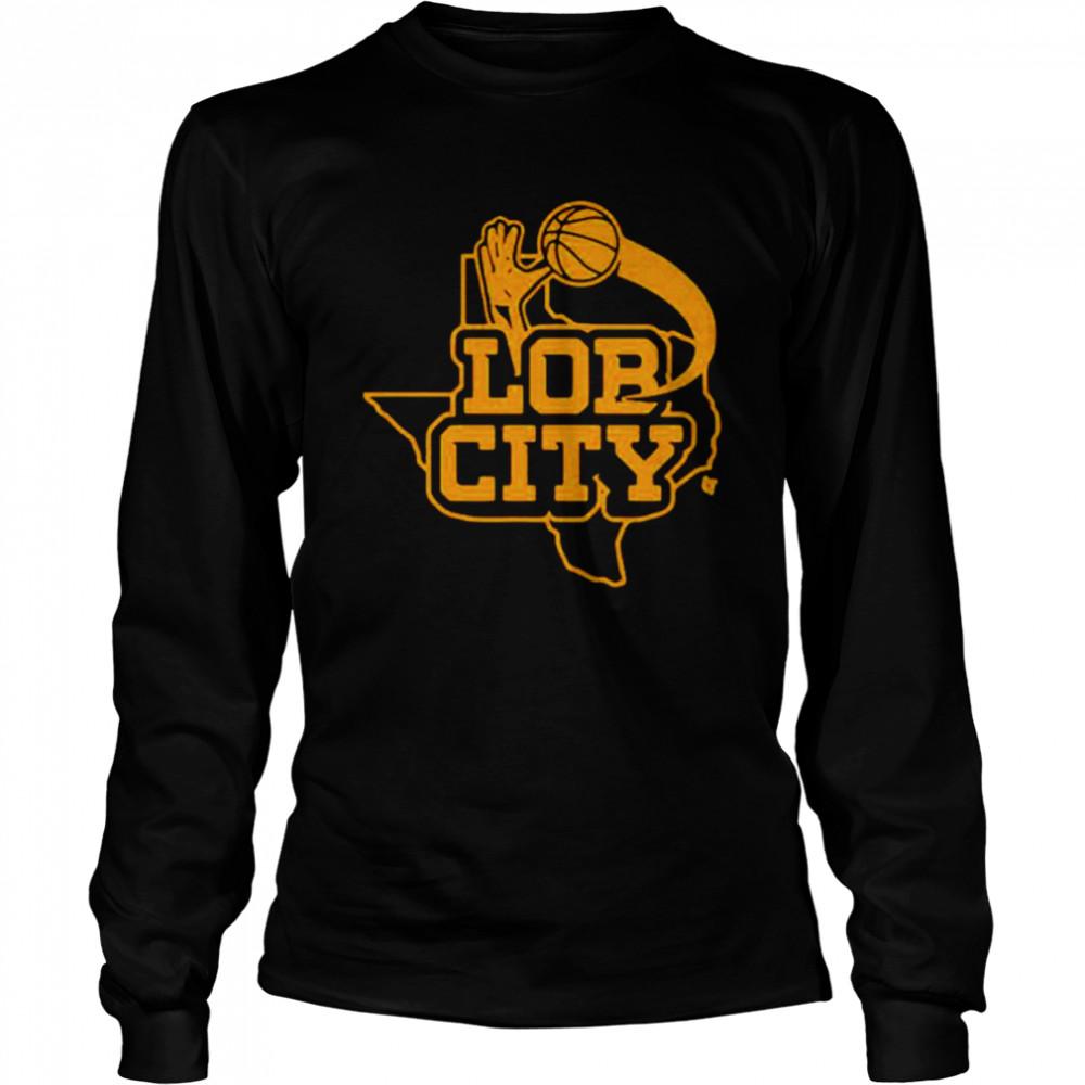 Basketball Lor City shirt Long Sleeved T-shirt