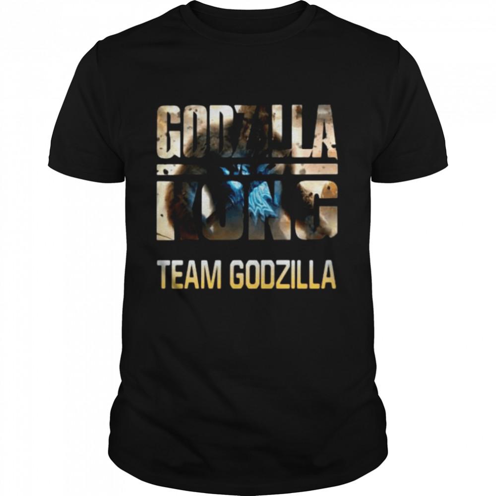 Godzilla Vs Kong Team Godzilla  Classic Men's T-shirt