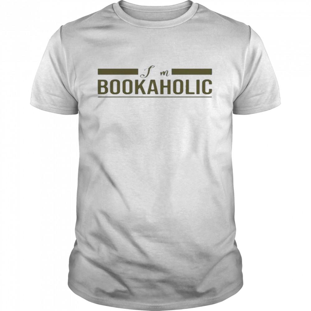 I Am A Bookaholic shirt Classic Men's T-shirt
