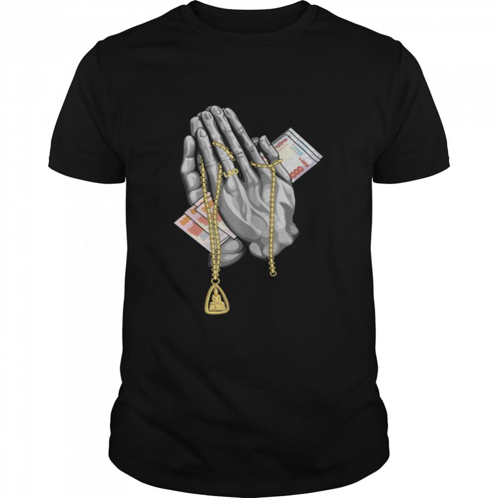 Laos Sa Tu Pray Blessed  Classic Men's T-shirt