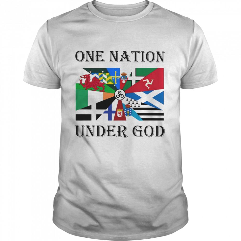 One Nation Under God T-shirt Classic Men's T-shirt