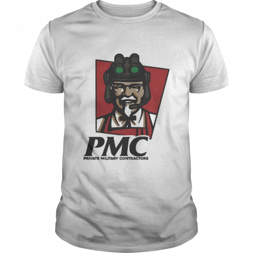 PMC Private Military Contractors  Classic Men's T-shirt