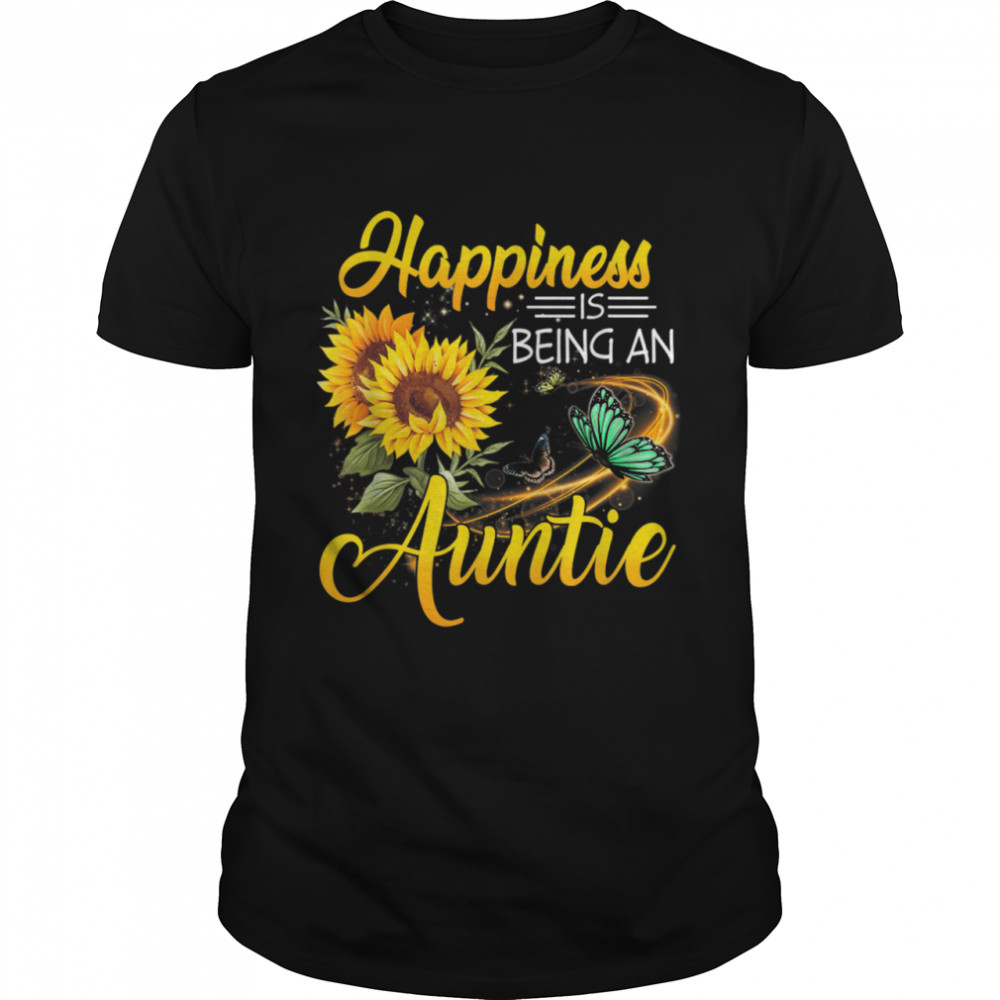 Happiness Is Being An Auntie  Classic Men's T-shirt