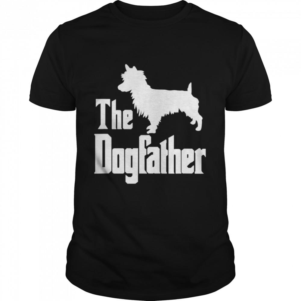 The Dogfather Dog Australian Terrier  Classic Men's T-shirt