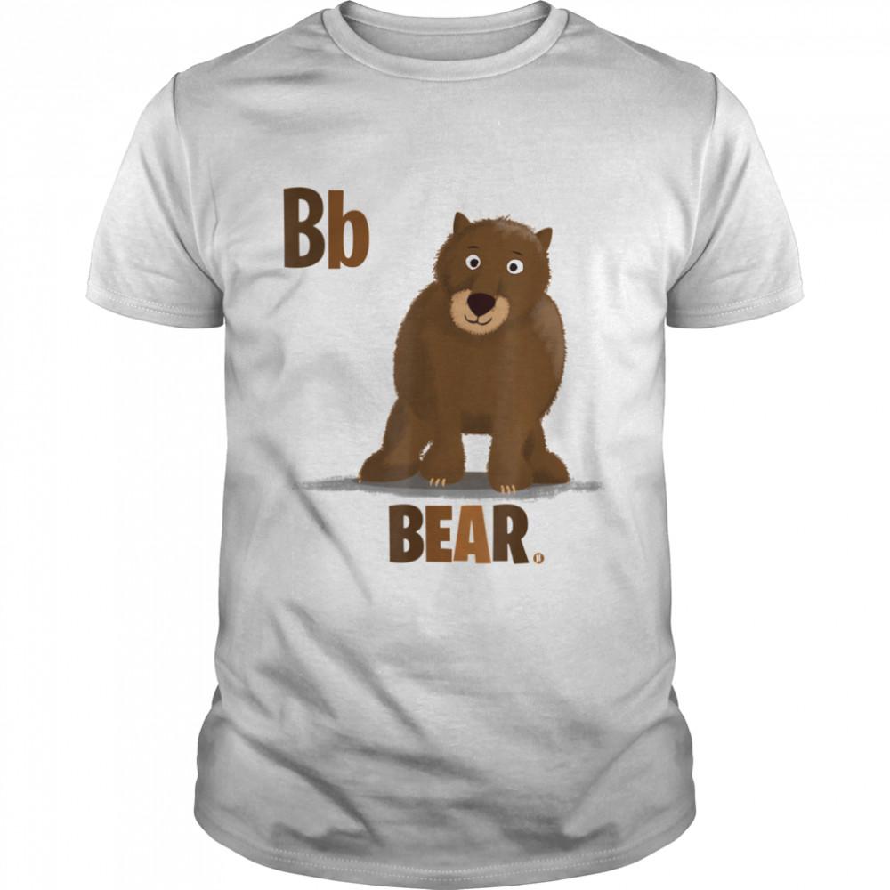 B ist für Bär süßer Grizzlybär  Classic Men's T-shirt