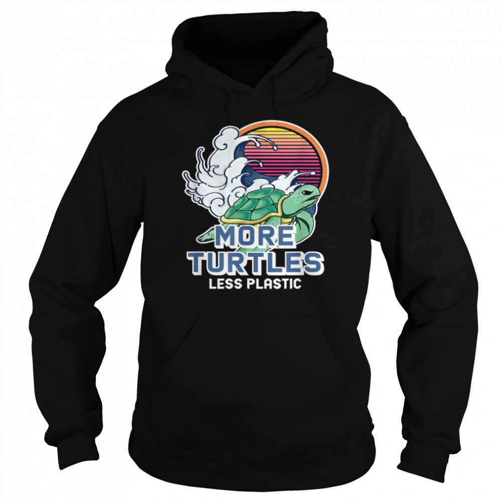 Turtle Girl Save the Turtles Earth Day  Unisex Hoodie