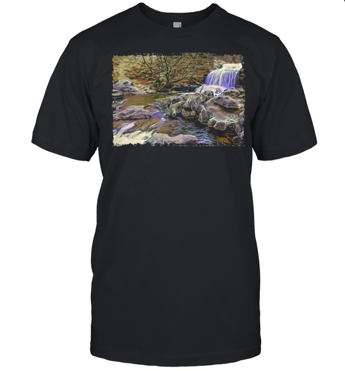 Waterfall Bella Vista, Arkansas shirt Classic Men's T-shirt