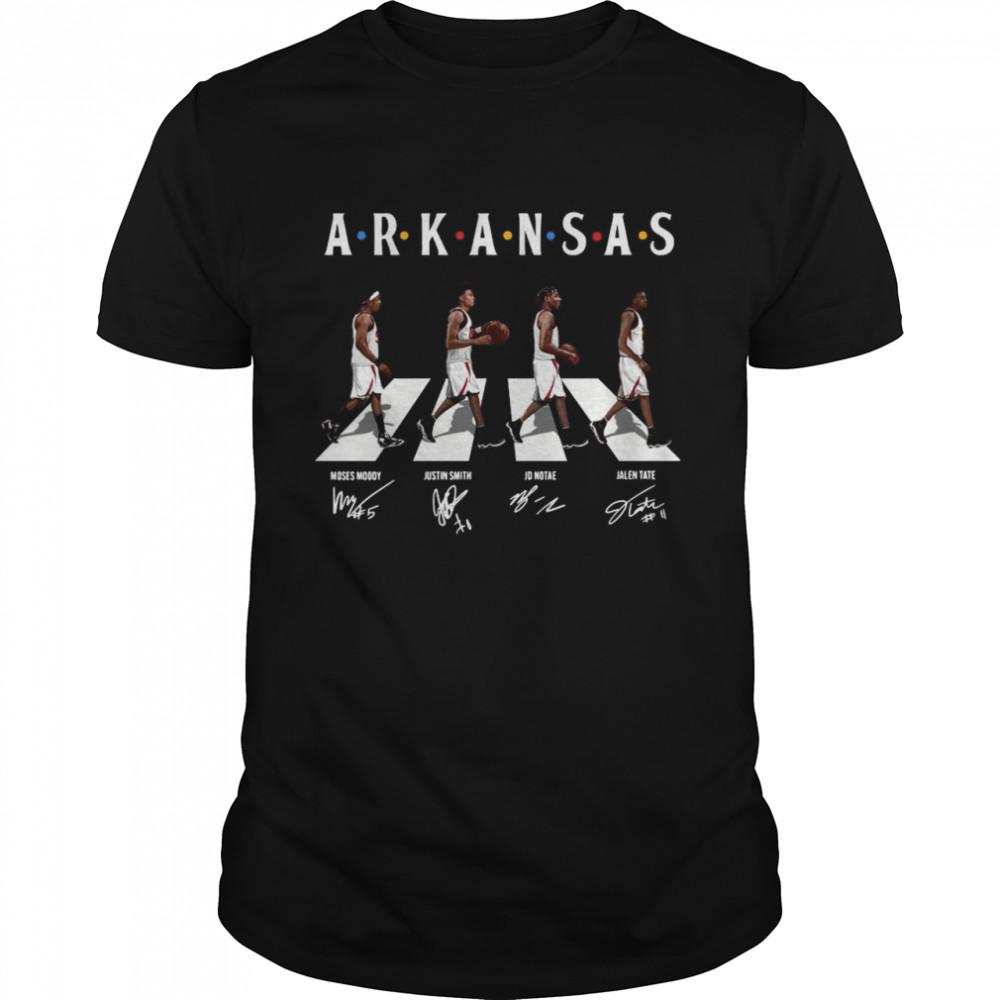 Arkansas Moses Moody Justin Smith Abbey Road Signatures shirt Classic Men's T-shirt