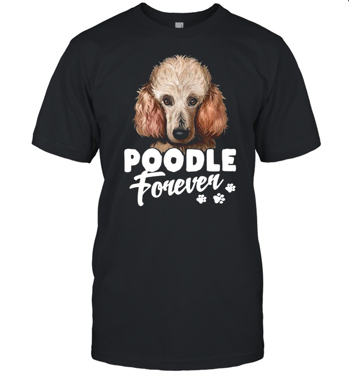 Dogs 365 Poodle Forever Dog T-shirt Classic Men's T-shirt