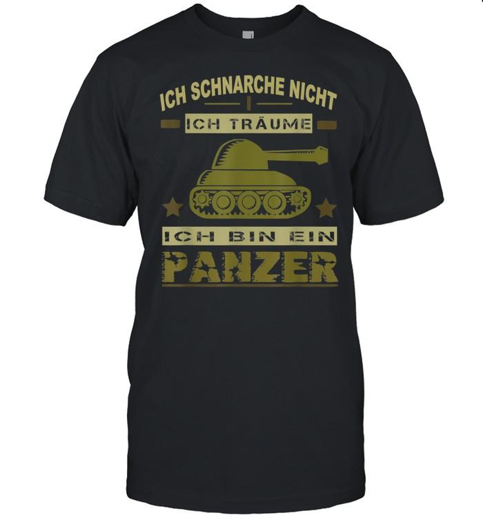 Herren Panzer Sprüche Panzerfahrer Soldat Armee Militär Zeitsoldat  Classic Men's T-shirt