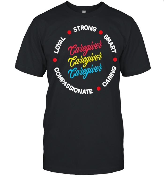 Pride Caregiver Characteristics Caregiver  Classic Men's T-shirt