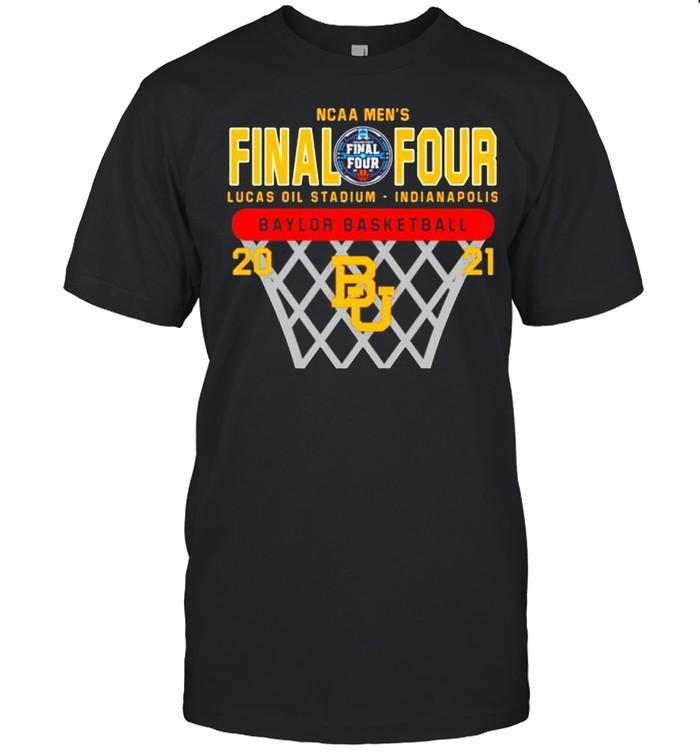 2021 Baylor Bears NCAA men's final four Lucas oil stadium Indianapolis Baylor basketball shirt Classic Men's T-shirt