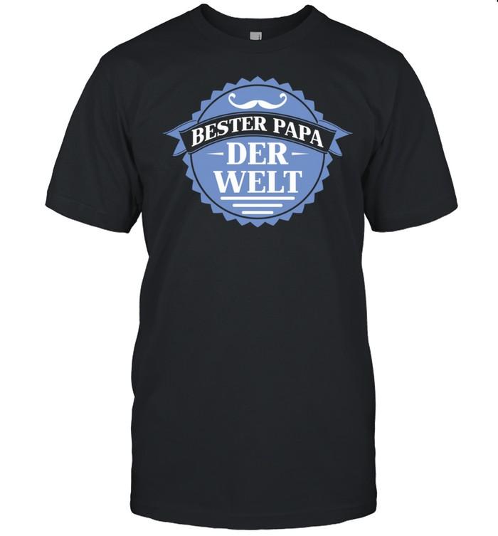 Bester Papa der Welt Vater Vatertag Langarmshirt shirt Classic Men's T-shirt