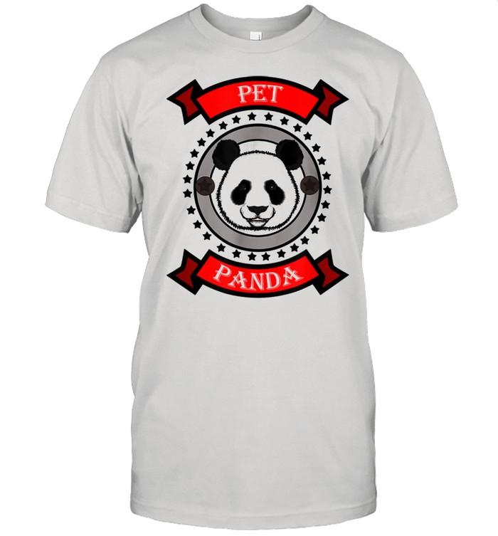 Cute Pet Panda Bear Design shirt Classic Men's T-shirt